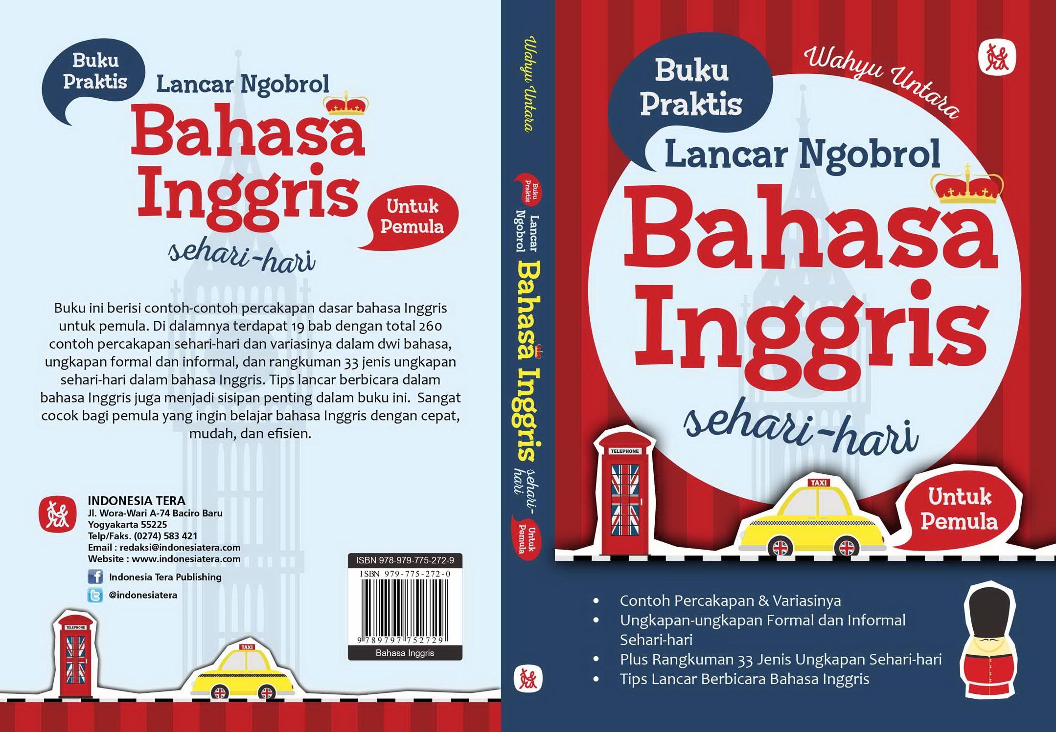 Buku Praktis Lancar Ngobrol Bahasa Inggris Sehari Hari Untuk Pemula